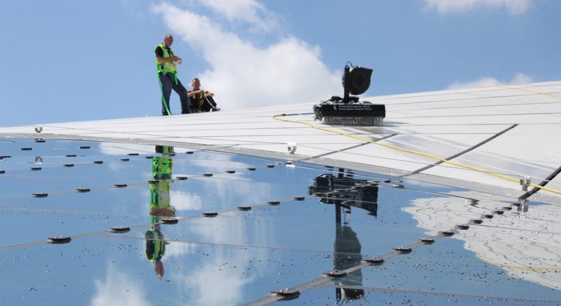 Solarreinigungsroboter