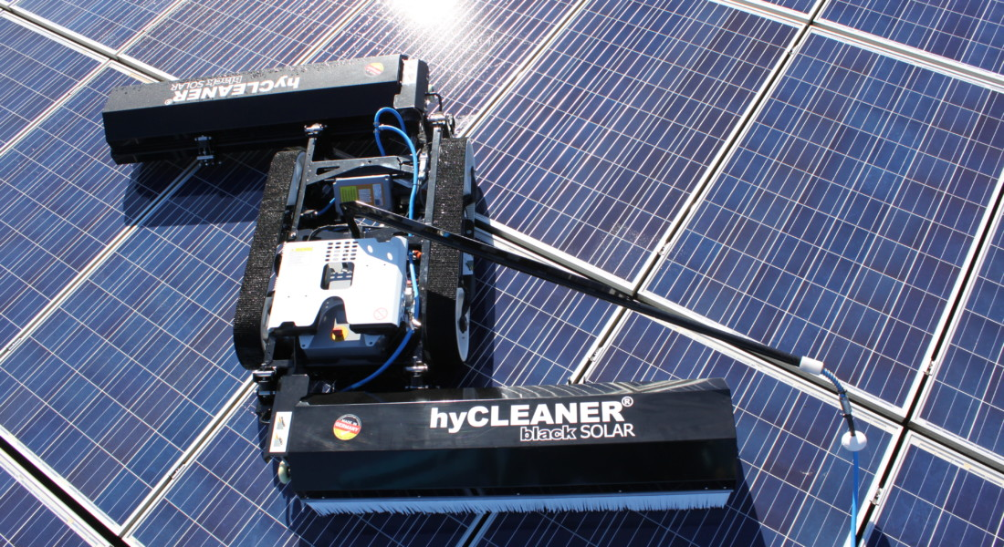 Solar Panel Cleaning Robot